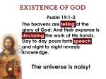 existence of god14
