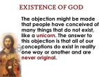 existence of god26