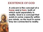 existence of god27
