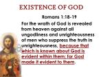 existence of god30
