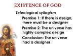 existence of god31