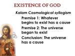 existence of god32