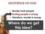 existence of god35