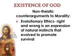existence of god39