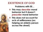 existence of god45