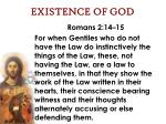 existence of god46