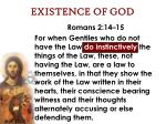 existence of god47