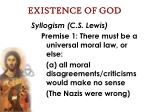 existence of god56