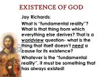 existence of god62