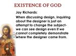 existence of god63
