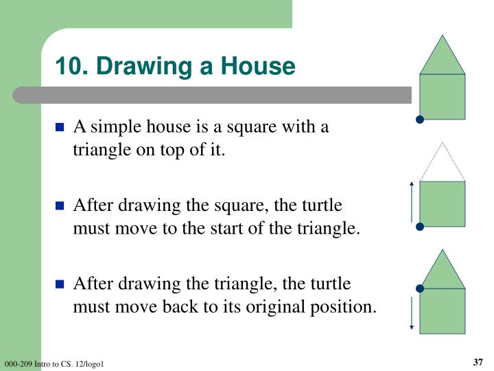 10. Drawing a House