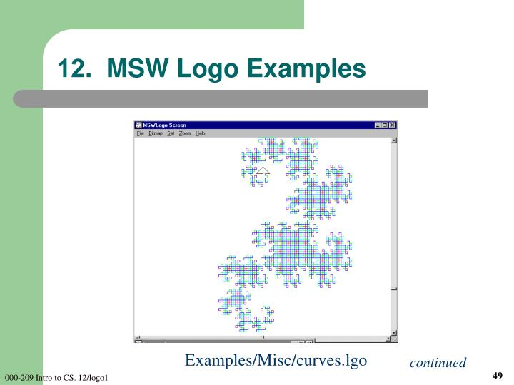 12.  MSW Logo Examples