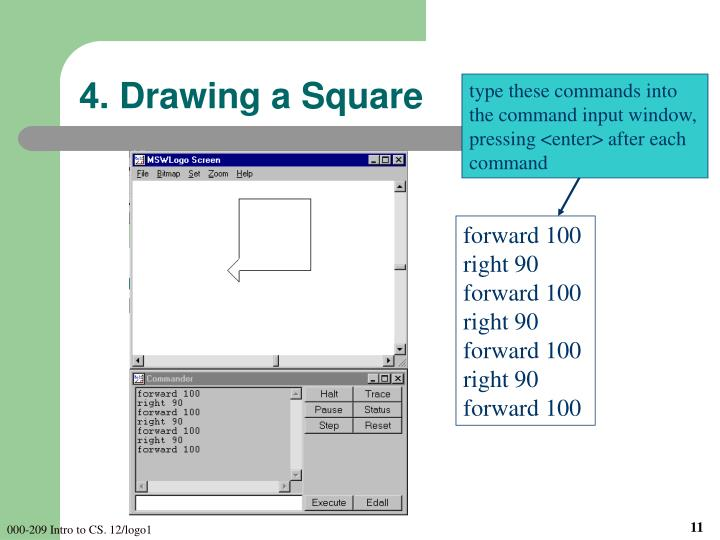 4. Drawing a Square