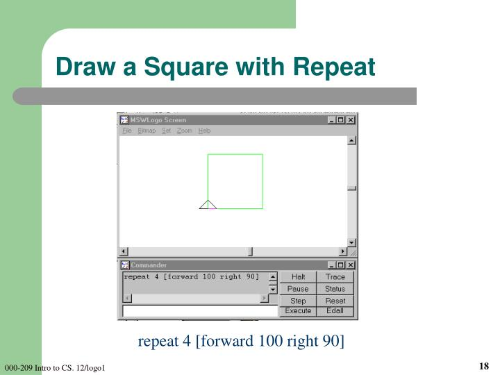 Draw a Square with Repeat