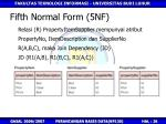 fifth normal form 5nf2