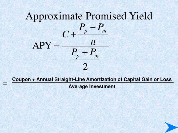Approximate Promised Yield