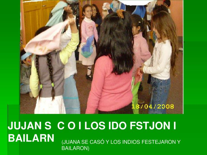 JUJAN S  C O I LOS IDO FSTJON I BAILARN