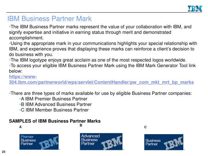IBM Business Partner Mark