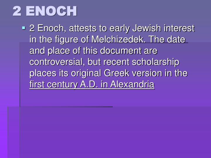 2 ENOCH
