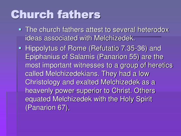 Church fathers