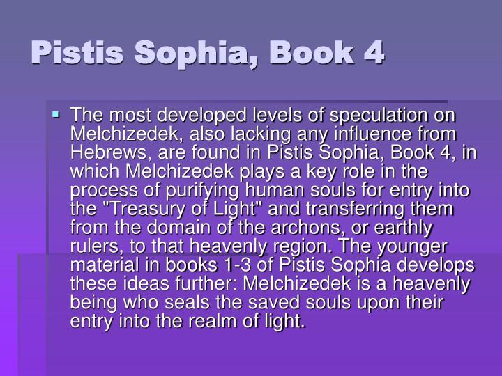 Pistis Sophia, Book 4