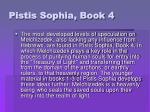 pistis sophia book 4