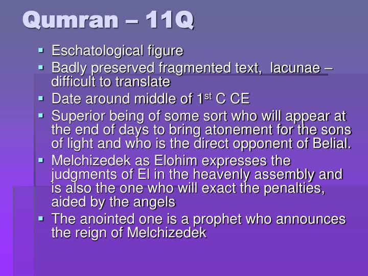 Qumran – 11Q