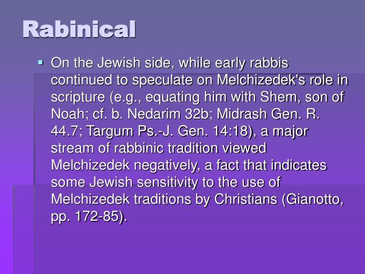 Rabinical