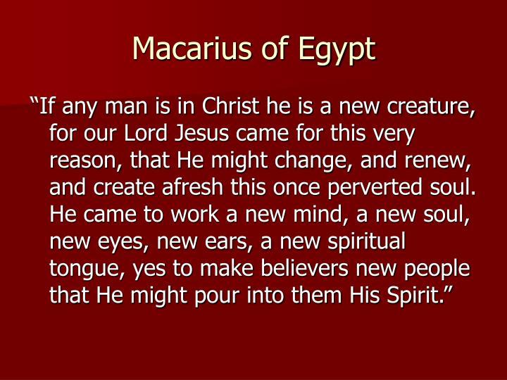 Macarius of Egypt