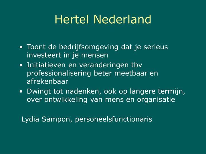 Hertel Nederland