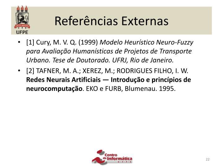 Referências Externas