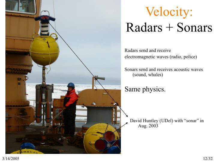 Velocity: