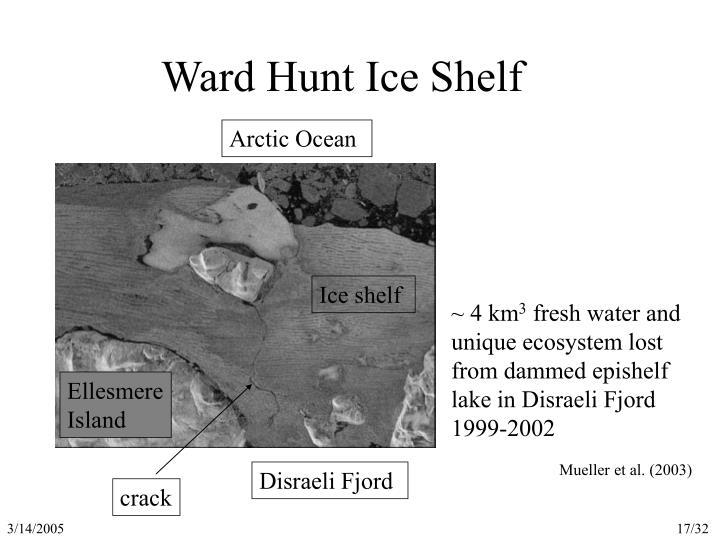 Ward Hunt Ice Shelf