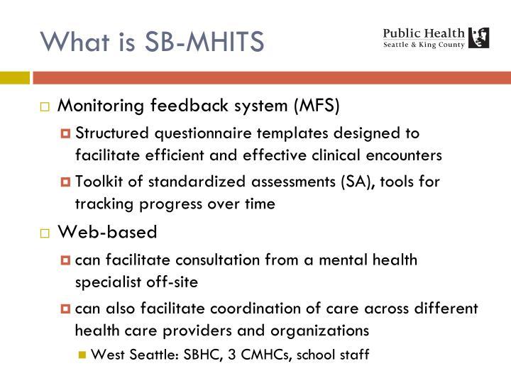 What is SB-MHITS