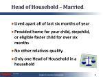 head of household married
