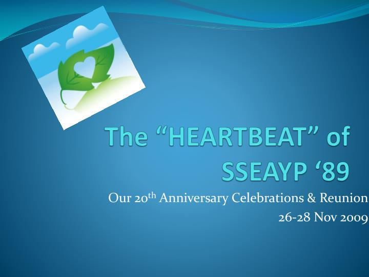 The heartbeat of sseayp 89