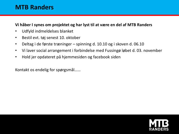 MTB Randers