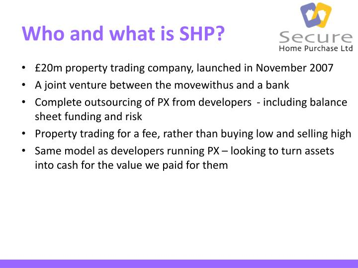 Who and what is shp