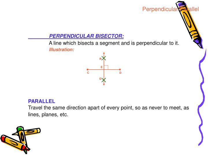 Perpendicular/Parallel