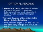 optional reading1