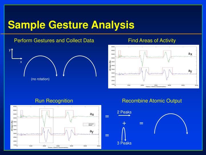 Sample Gesture Analysis