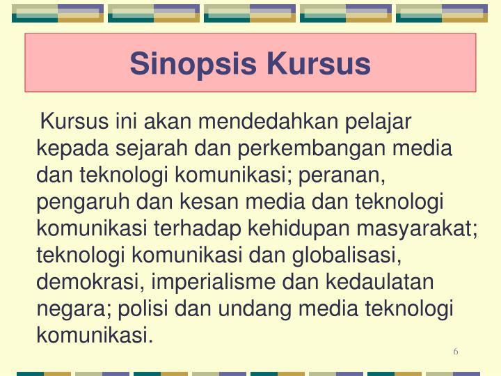 Sinopsis Kursus