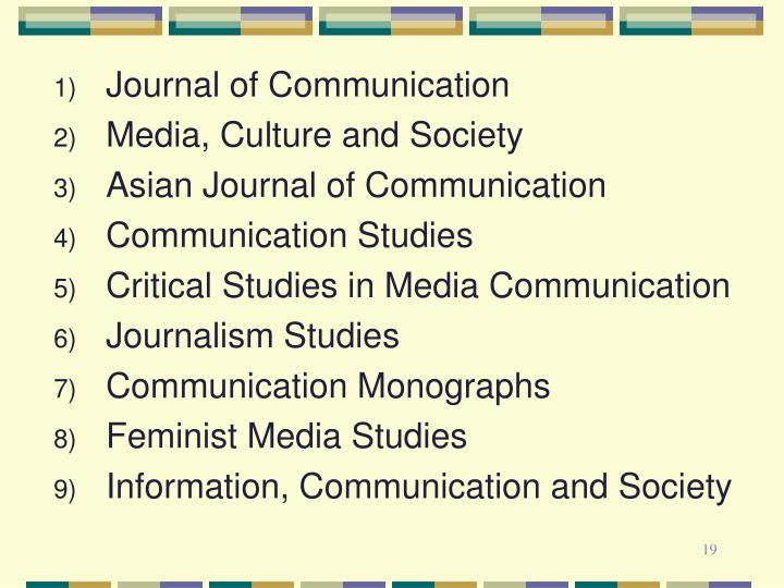 Journal of Communication