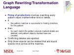 graph rewriting transformation language5