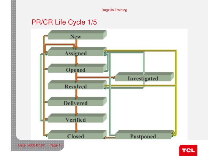 PR/CR Life Cycle 1/5