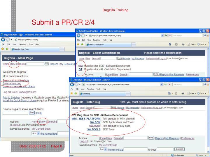 Submit a PR/CR 2/4