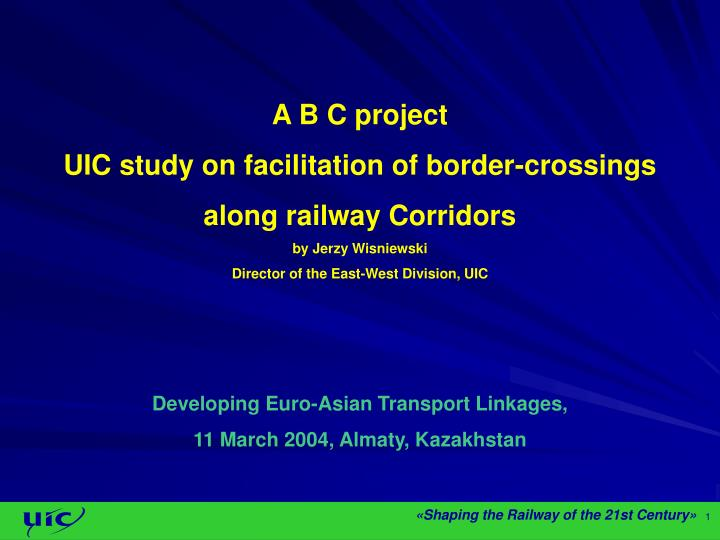 A B C project
