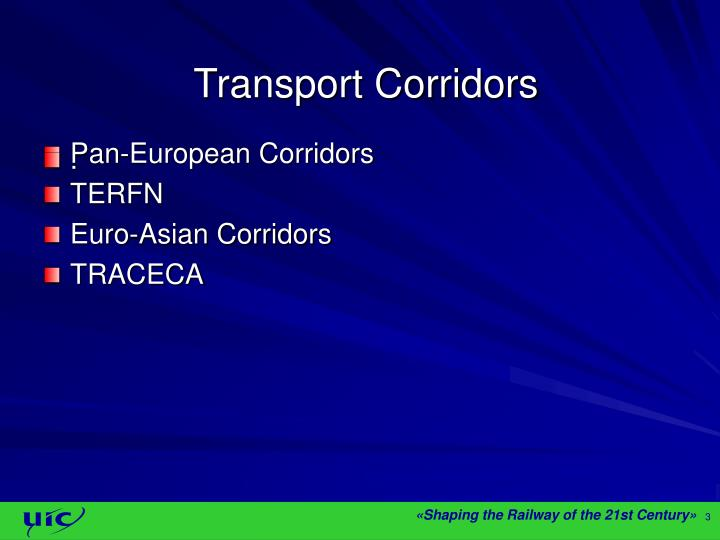 Pan-European Corridors