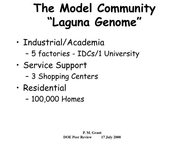 The Model Community