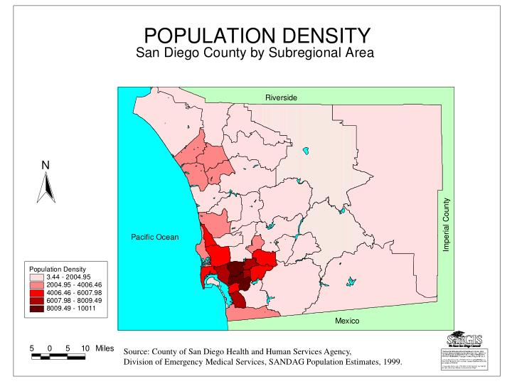 Source: County of San Diego Health and Human Services Agency,